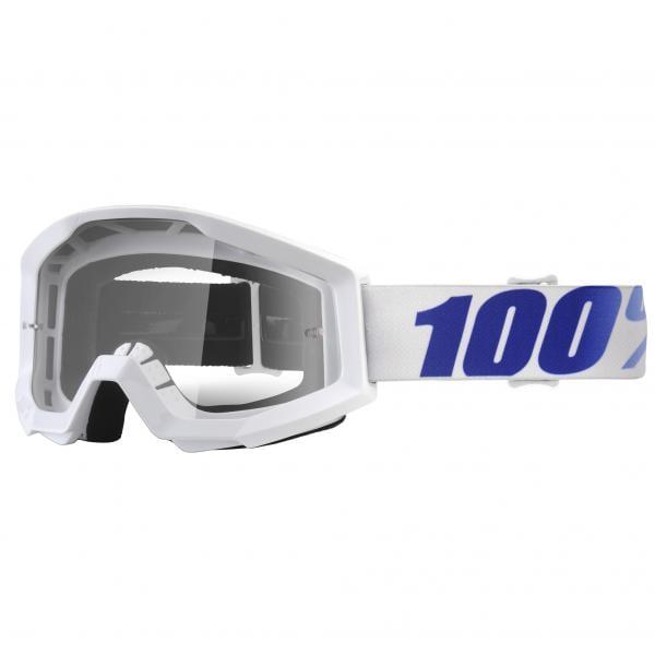 masque 100 strata equinox blanc cran clair 2018 probikeshop. Black Bedroom Furniture Sets. Home Design Ideas
