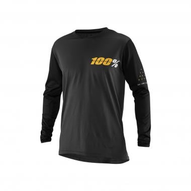 Maillot 100% RIDECAMP Manches Longues Gris 2019