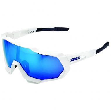 2ab0906a2d4c2 Óculos 100% SPEEDTRAP Branco Iridium 2019