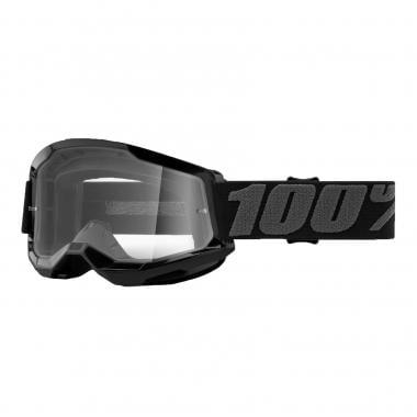 Masque 100% STRATA 2 Noir Écran Transparent 2021