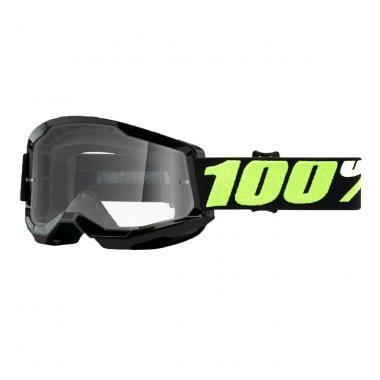 Masque 100% STRATA 2 UPSOL Noir Écran Transparent 2021