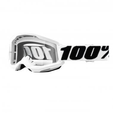 Masque 100% STRATA 2 EVEREST Blanc Écran Transparent 2021