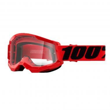 Masque 100% STRATA 2 Rouge Écran Transparent 2021