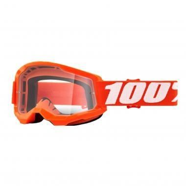 Masque 100% STRATA 2 Orange Écran Transparent 2021