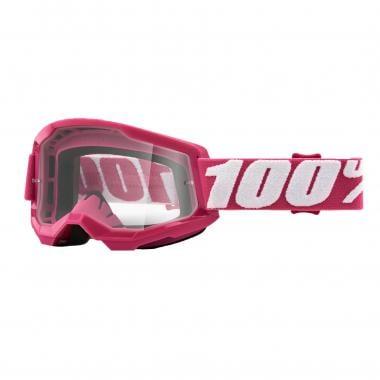 Masque 100% STRATA 2 FLETCHER Rose Écran Transparent 2021