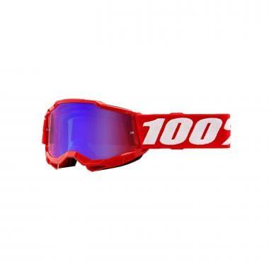 Masque 100% ACCURI 2 Enfant Rouge Écran Iridium 2021