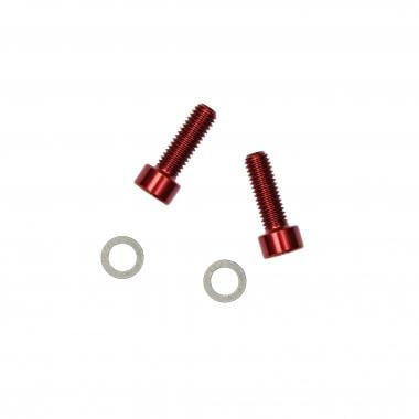 Kit de Vis de Porte-Bidon KCNC Aluminium 5*15 mm
