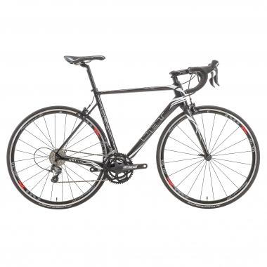 Bicicleta de carrera CBT ITALIA NECER Shimano Tiagra 4700 34/50 Negro/Blanco 2016