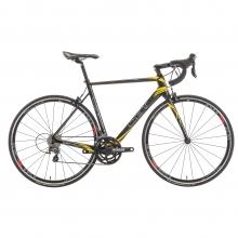 Bicicleta de carrera CBT ITALIA NECER Shimano Tiagra 4700 34/50 Negro/Amarillo 2016
