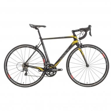 Vélo de Course CBT ITALIA NECER Shimano Tiagra 4700 34/50 Noir/Jaune 2016