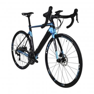 CBT ITALIA ARTIK-09 Shimano 105 R7020 34/50 Electric Road Bike Black/Blue 2021