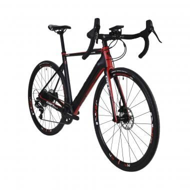 CBT ITALIA BLADE99 Sram Apex 40 Teeth Electric Gravel Bike Black/Red 2021