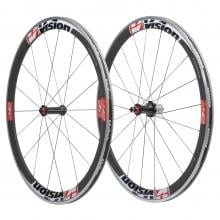 VISION TRIMAX T42 Clincher Wheelset Red