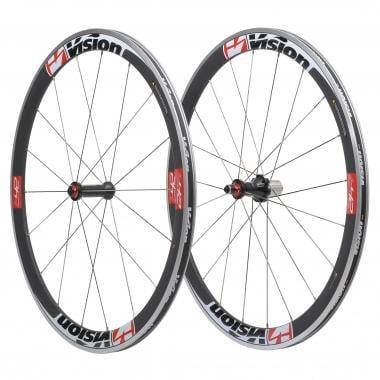 Par de Rodas VISION TRIMAX T42 para pneus Vermelho