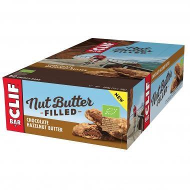 Pack de 12 Barres Énergétiques CLIF BAR NUT BUTTER FILLED (50 g)