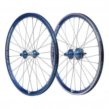 Paire de Roues PRIDE RIVAL EX 28H 20x1-3/8 Bleu