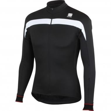 Maillot SPORTFUL PISTA THERMAL Manches Longues Noir/Blanc