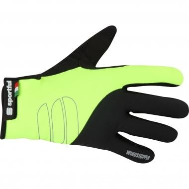 Guantes SPORTFUL ESSENTIAL WINDSTOPPER Negro/Amarillo