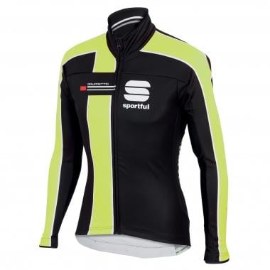 Chaqueta SPORTFUL GRUPPETTO PARTIAL WINDSTOPPER Negro/Amarillo