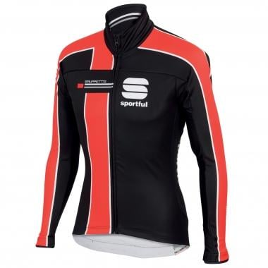 SPORTFUL GRUPPETTO PARTIAL WINDSTOPPER Jacket Black/Red