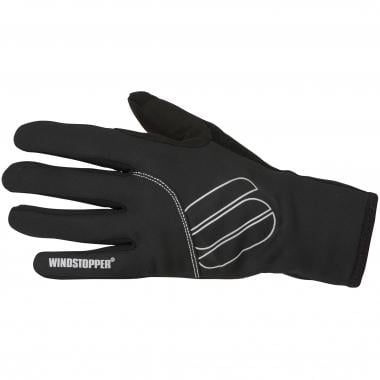 Guanti SPORTFUL ESSENTIAL WINDSTOPPER Donna Nero