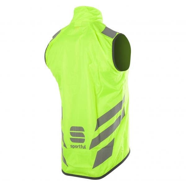 gilet sportful reflex jaune fluo 2016 probikeshop. Black Bedroom Furniture Sets. Home Design Ideas