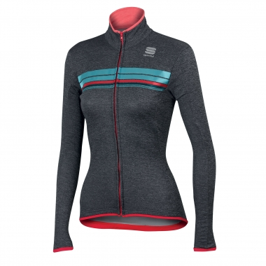 Maillot SPORTFUL ALLURE THERMAL Mujer Mangas largas Gris/Azul 2016