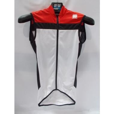 CDA - Maillot SPORTFUL PISTA LONGZIP san manches Blanc/Rouge Taille XS