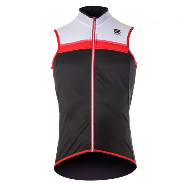 aed9b636a SPORTFUL PISTA Sleeveless Jersey Black White Red 2017 - Probikeshop
