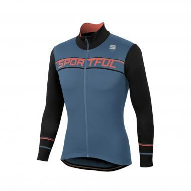 Maillot SPORTFUL GIRO THERMAL Manches Longues Bleu/Noir