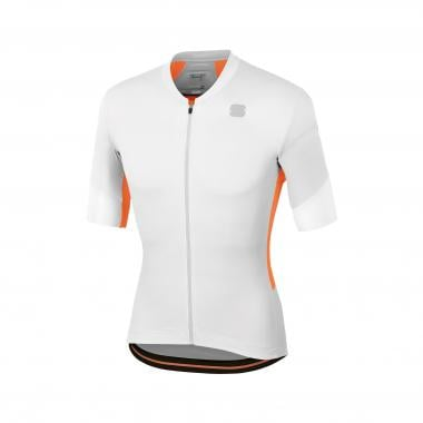 Maillot SPORTFUL GTS Manches Courtes Blanc/Orange 2019
