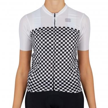 Maillot SPORTFUL CHECKMATE Femme Manches Courtes Blanc 2021