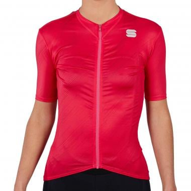 Maillot SPORTFUL FLARE Femme Manches Courtes Rose 2021