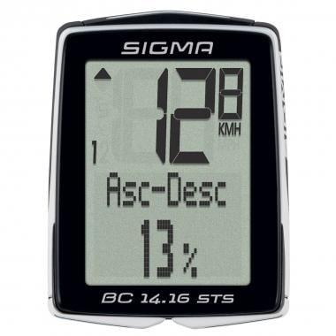 Ciclocomputer senza Fili SIGMA BC 14.16 STS CAD