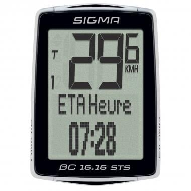 Ciclocomputadora inalámbrica SIGMA BC 16.16 STS