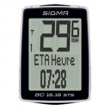 Ciclocomputadora inalámbrica SIGMA BC 16.16 STS CAD