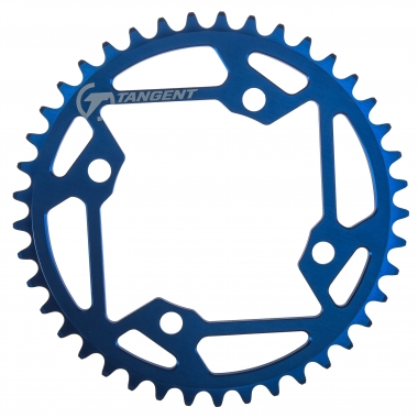 Corona TANGENT SOLID 4 tornillos 104 mm Azul