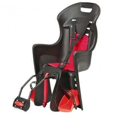 Cadeira porta-bebé POLISPORT BOODIE Preto/Vermelho
