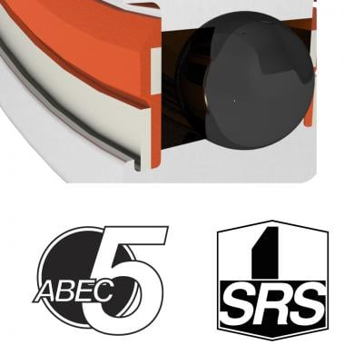 Roulement ENDURO BEARINGS ABEC5 61806-2RS-SRS (30 x 42 x 7 mm)