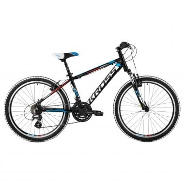 "Mountain Bike KROSS LEVEL REPLICA 24"" Negro"