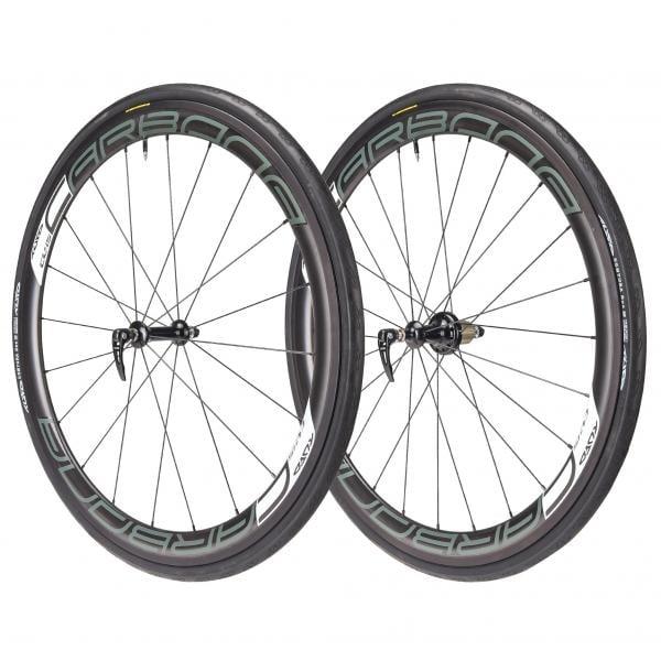 Tufo Carbona 45 Clincher Wheelset Tufo Comtura Duo 700x25c Tyres