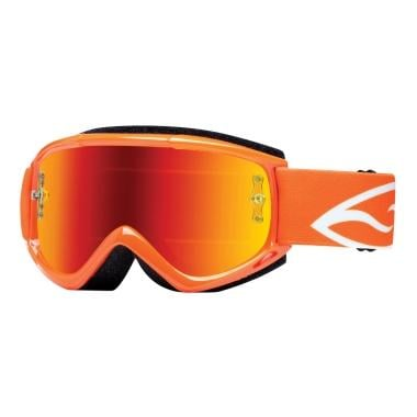 Gafas máscara SMITH OPTICS FUEL V.1 MAX Naranja Lente espejo