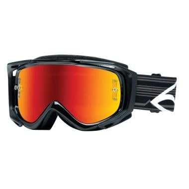 Máscara SMITH OPTICS FUEL V.2 SWEAT-X Preto Ecrã Mirror