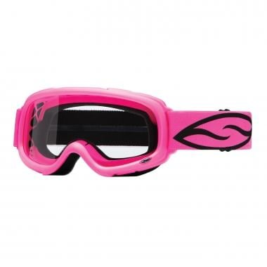 Masque SMITH OPTICS GAMBLER MX Enfant Rose Écran Clear