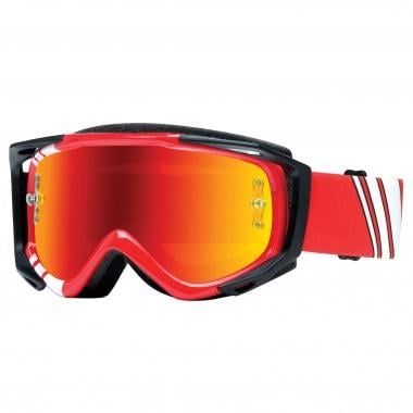 Máscara SMITH OPTICS FUEL V.2 SWEAT-X M Vermelho Ecrã Mirror