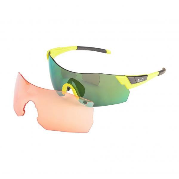 ea6abaaa43cd2 Óculos SMITH OPTICS PIVLOCK ARENA MAX Amarelo Mate Chromapop 2018 -  Probikeshop