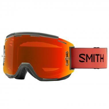 Masque SMITH SQUAD MTB Orange/Vert Écran Chromapop