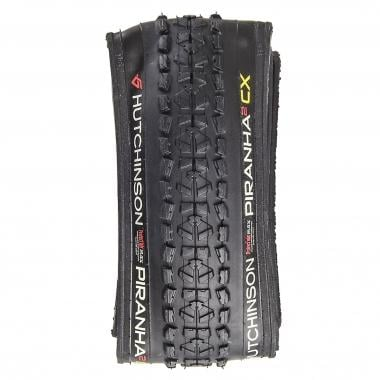 Pneu HUTCHINSON PIRANHA 2 CX 700x34c Tubeless Ready Souple Preto