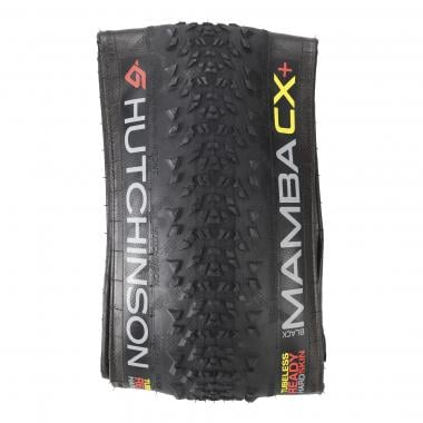 Pneu HUTCHINSON BLACK MAMBA CX+ 650x50c Protect'Air Max Tubeless Souple