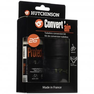 "Kit de Conversion Tubeless VTT HUTCHINSON CONVERT'AIR 26"""